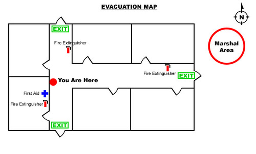Emergany procedures and evacuation plans gm industries for Fire evacuation procedure template free